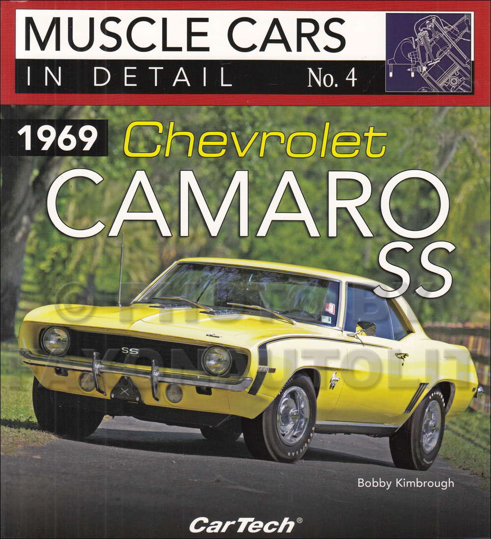 1969 Camaro Wiring Diagram Manual Reprint