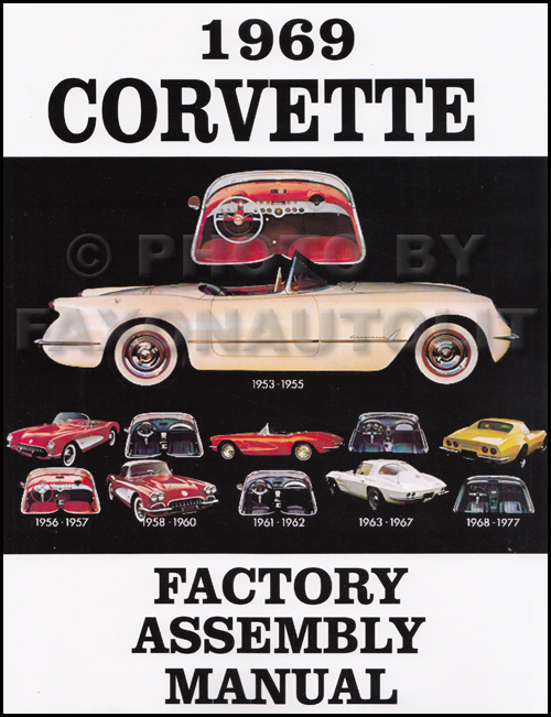 1969 corvette wiring diagram manual reprint 1969 corvette factory assembly manual reprint