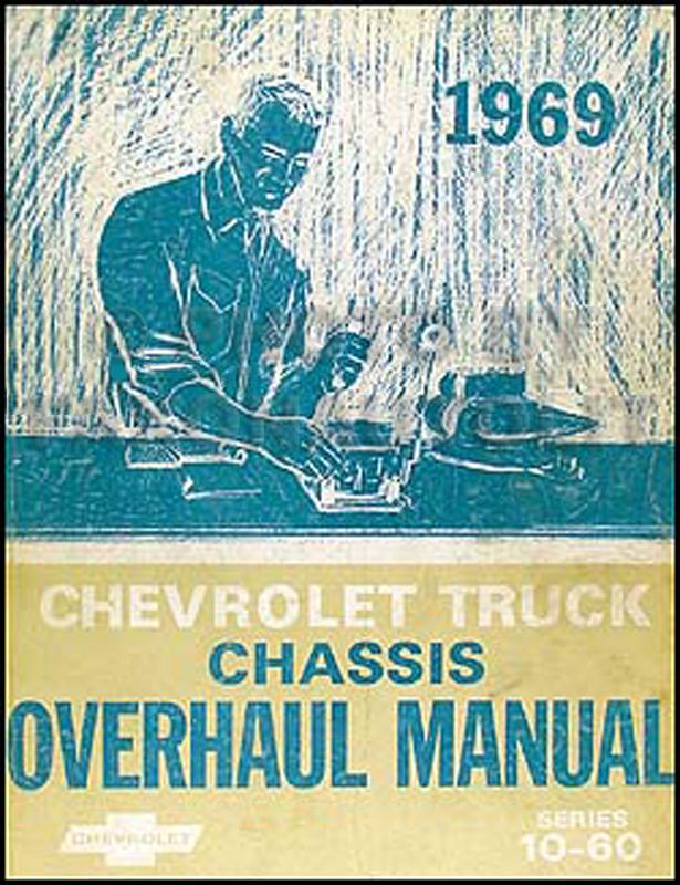 1969 Chevy Truck Overhaul Manual Original 10-60