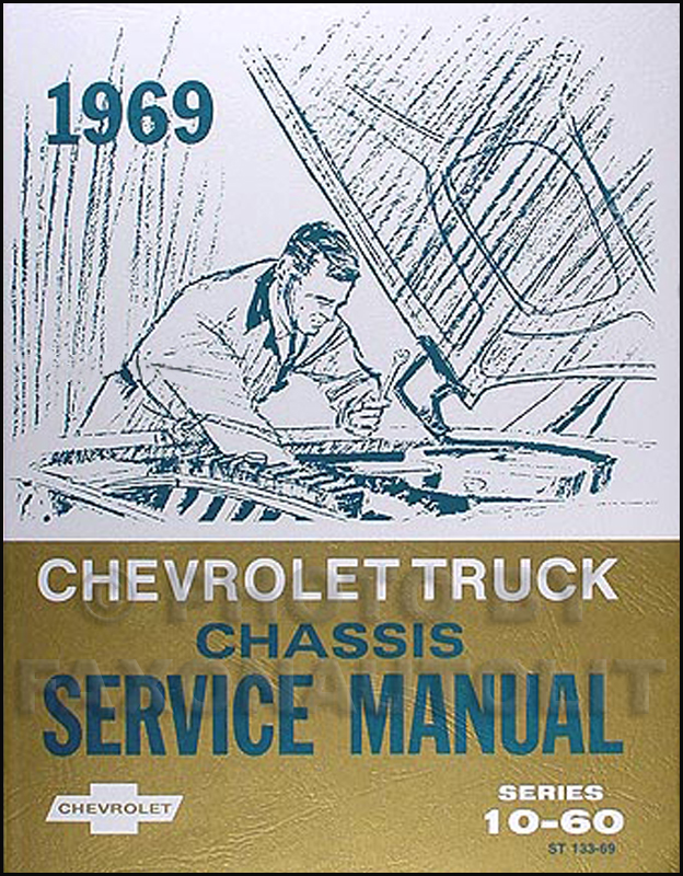 1969 Chevrolet Van, Pickup & Truck Chassis Shop Manual Reprint