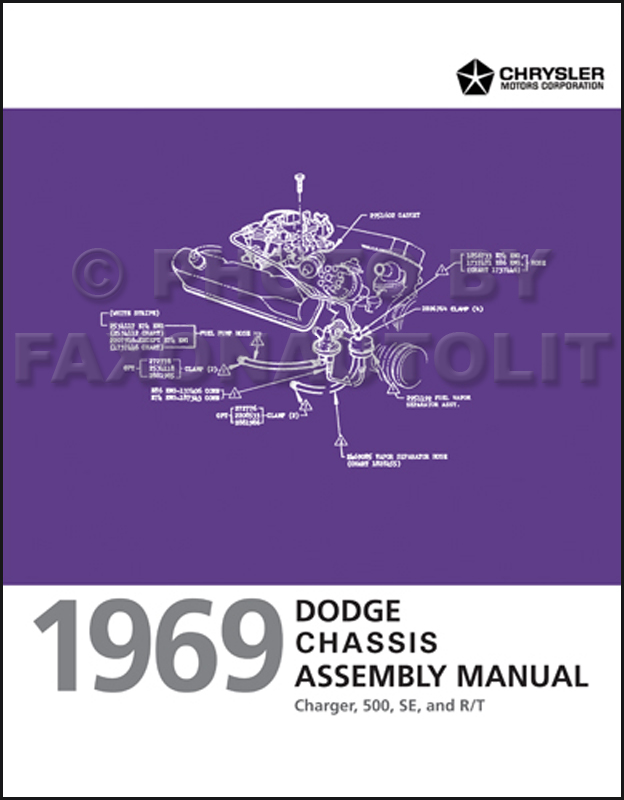 1969 dodge charger chassis assembly manual reprint publicscrutiny Choice Image