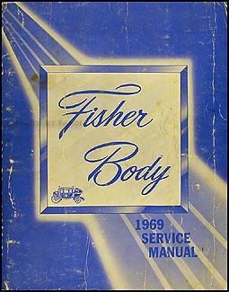 body by fisher camaro 1969