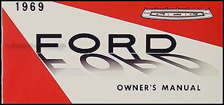 1969 Ford Lincoln Mercury Repair Shop Manual Original 5 ...