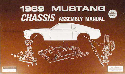 1969Mustangrcam 1969 ford mustang chassis assembly manual reprint 1969 Mustang Wiring Diagram PDF at suagrazia.org