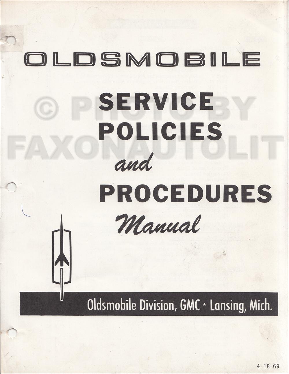 1969 Olds Cutlass  F