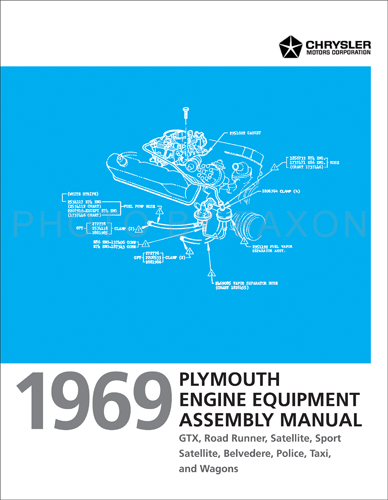 plymouth roadrunner service manuals shop owner maintenance and 1969 plymouth engine assembly manual reprint satellite gtx road runner belvedere