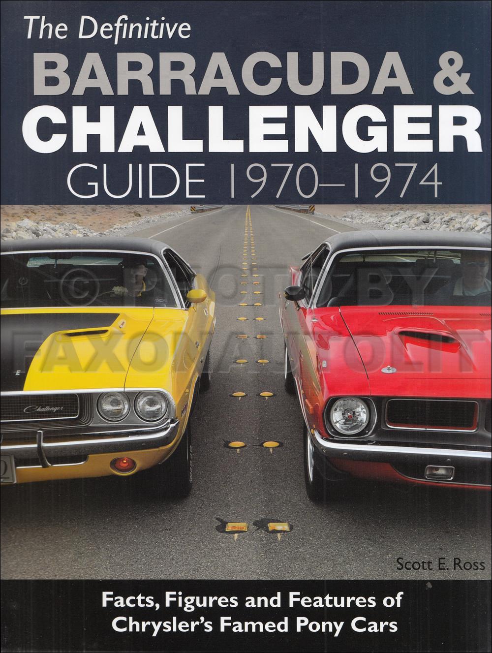1970 Dodge Challenger And Dart Repair Shop Manual Original