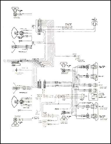 1976 Wiring Diagram Manual Chevelle El Camino Malibu Monte Carlo P12635 on geo metro models