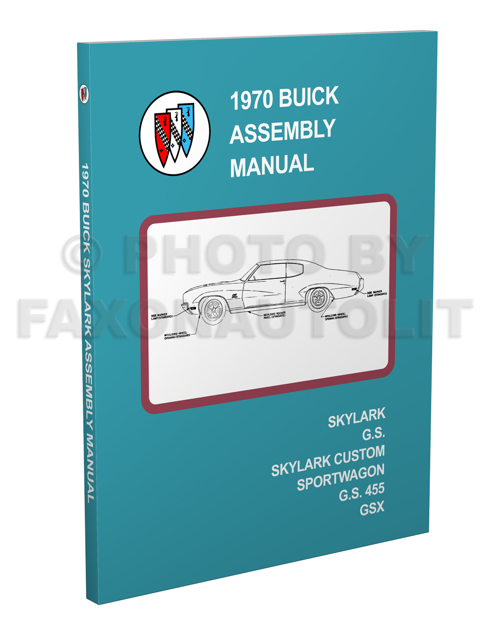 Search 1968 1969 70 71 72 Buick Skylark Gs Gsx Electra Lesabre Wiring 1970 And Factory Assembly Manual Reprint