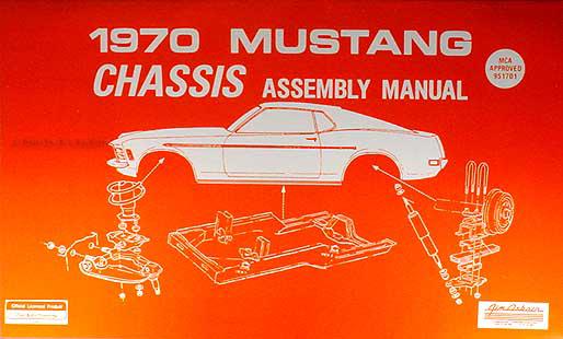 1970 Ford Mustang Mercury Cougar Factory Wiring Diagram