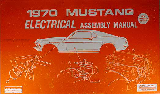 1970Mustangream 1970 ford mustang wiring diagram manual with shelby supplement reprint 1970 mustang wiring diagram at alyssarenee.co