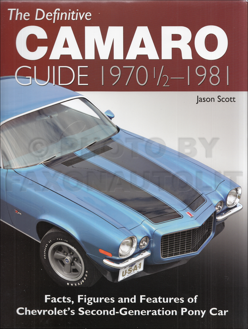 1970-1981 Definitive Camaro Guide: Facts, Figures and Features