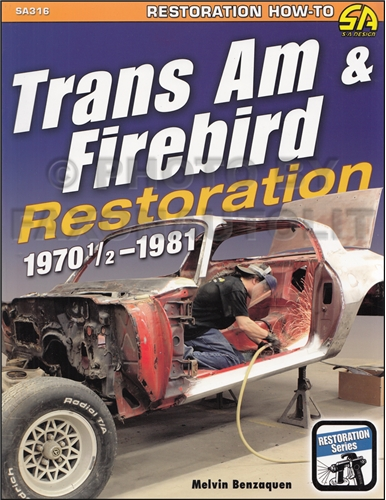 1970-1981 Pontiac Trans Am and Firebird Restoration Guide by Benzaquen