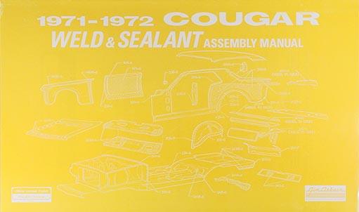 1971 Ford Mustang Mercury Cougar Factory Wiring Diagram
