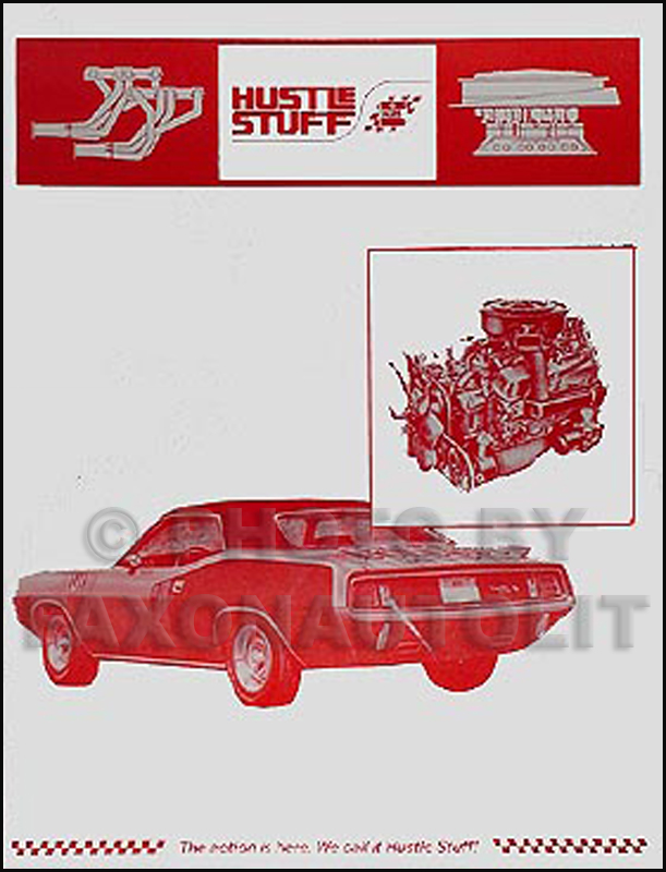 1965-1971 MoPar Muscle Hustle Stuff Racing Reprint Parts Catalog
