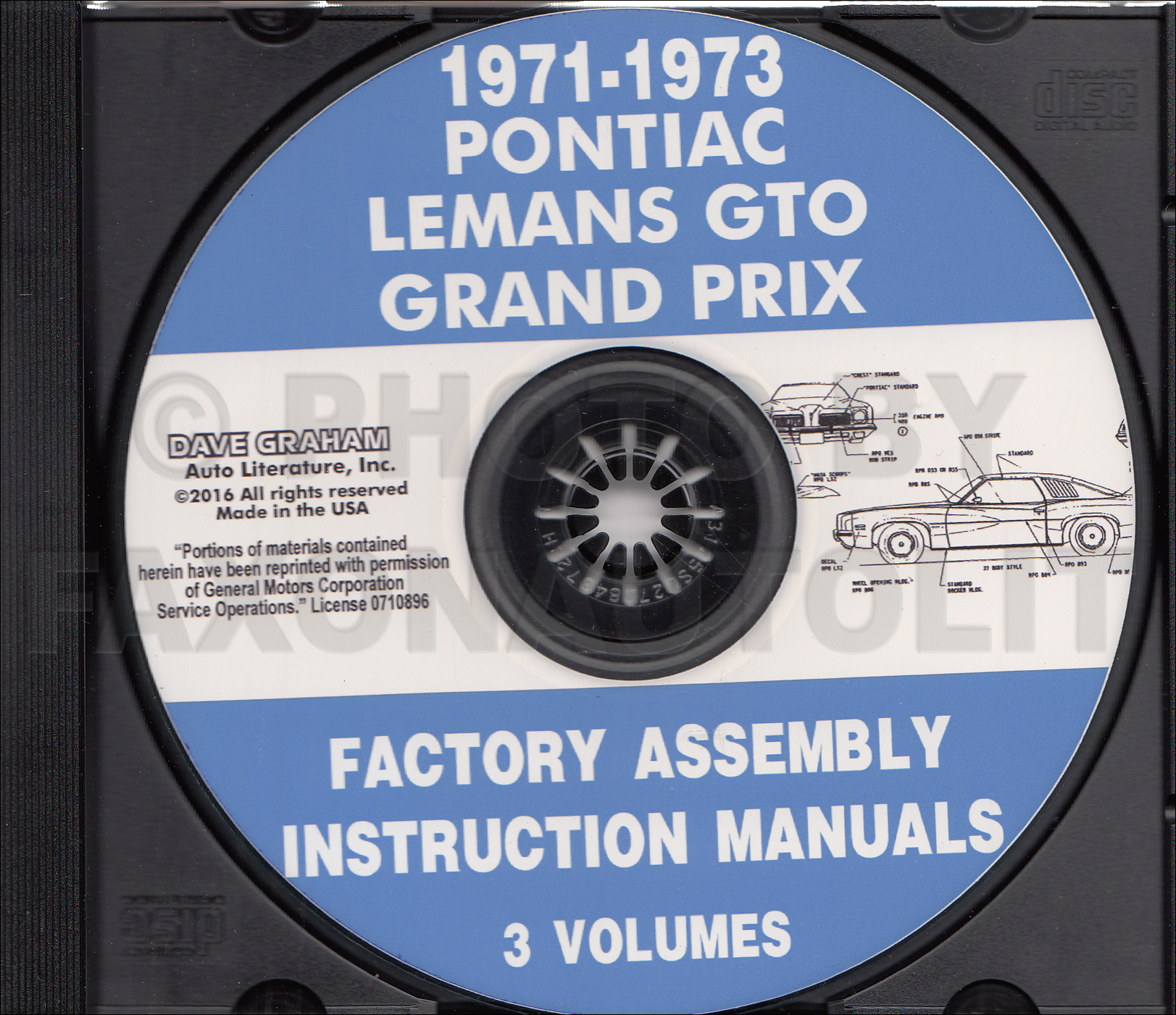 1971 1972 1973 Pontiac Assembly Manual Cd Lemans Gto Grand Prix Wiring Image Is Loading