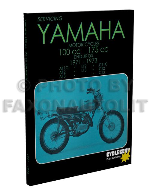 1971 1973 yamaha 100 175 cycleserv repair shop manual enduro motorcycle rh faxonautoliterature com