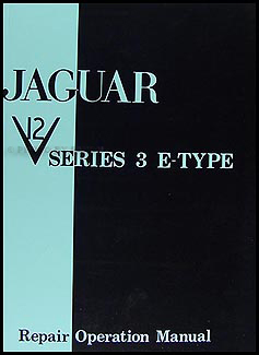 1971 74JaguarXKERRM 1971 1974 jaguar xke v12 e type repair shop manual original series 3 jaguar e type series 3 wiring diagram at virtualis.co