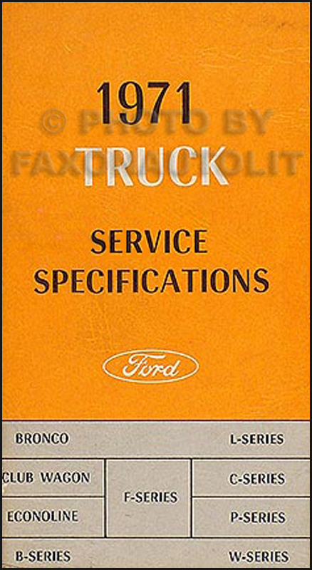 1971 ford pickup and truck wiring diagram original f100 f250 f350 1971 F600 Wiring 1971 F600 Wiring #43 1971 f600 wiring