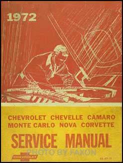 1972 camaro assembly manual pdf