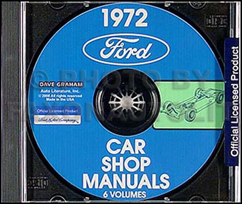 1972FordCDRM 1972 ford lincoln, mercury repair shop manuals on cd rom 1956 Mercury Wiring Diagram at mifinder.co