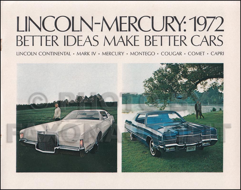 1972 Ford Maverick And Mercury Comet Wiring Diagram Original