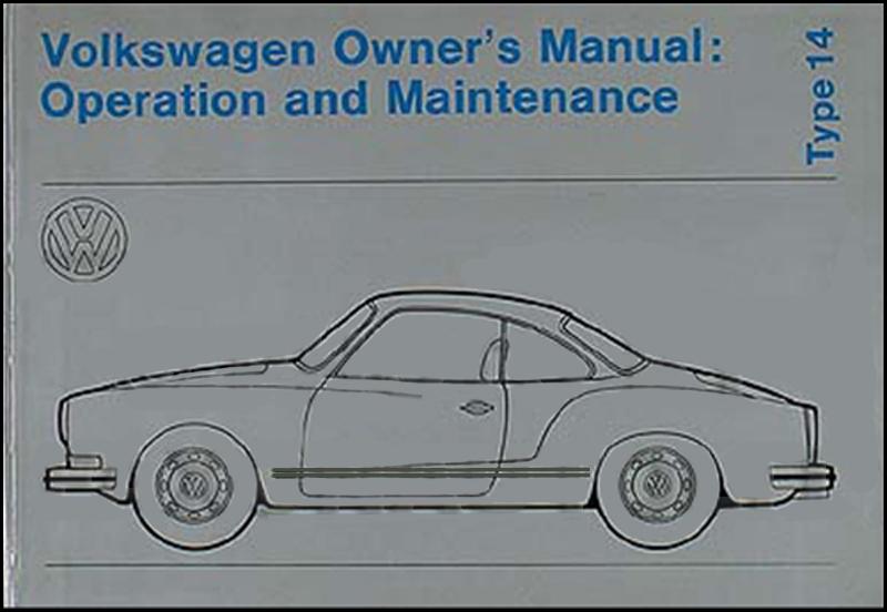 1972 volkswagen karmann ghia owner s manual original rh faxonautoliterature com karmann ghia service manual pdf karmann ghia service manual