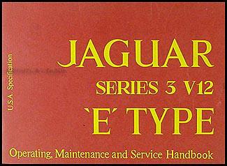 1973 jaguar xke owner s manual original e type rh faxonautoliterature com jaguar xk owners manual 1963 Jaguar XKE