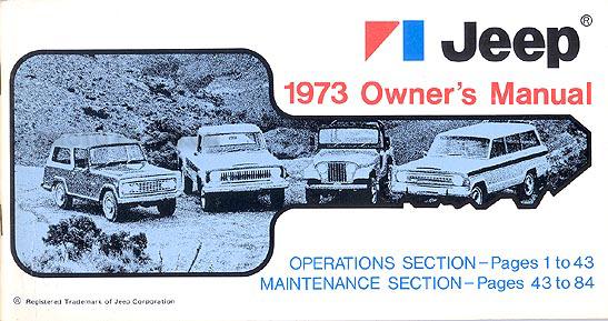 1970 Jeep Cj5 Service Manual - DATA Wiring Diagrams •
