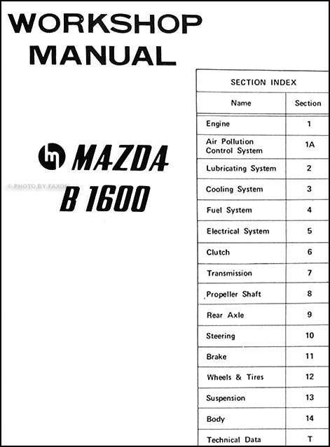 1986 mazda b2000 vacuum diagram html