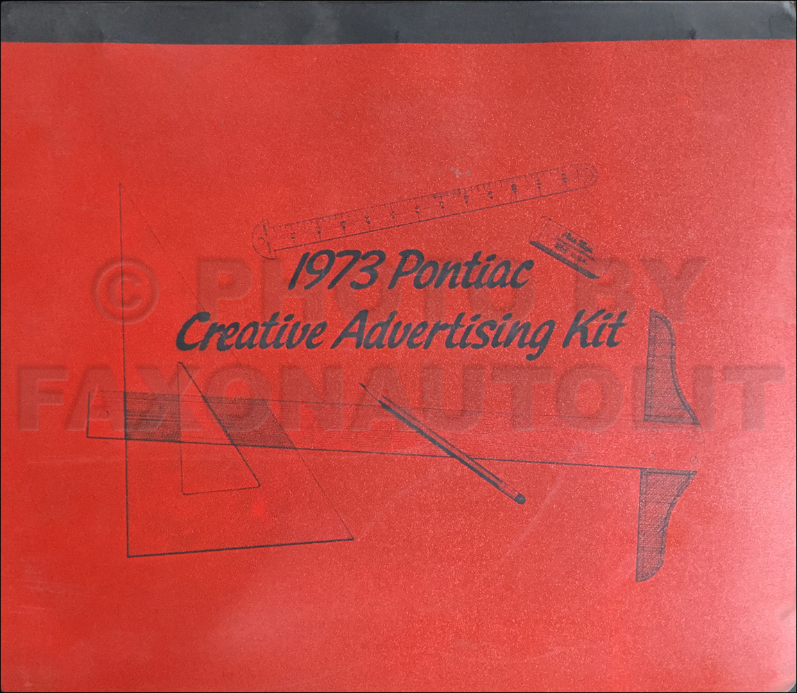 1973 Pontiac Dealer Advertising Planner Original