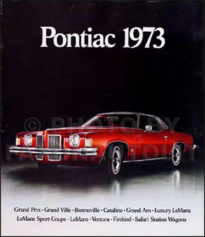 1973 Pontiac Original Sales Brochure