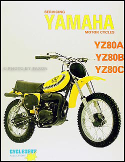 1974 76YamahaYZORM 1974 1976 yamaha yz80a, yz80b & yz80c motorcycle repair shop 1977 Yamaha YZ 80 at reclaimingppi.co