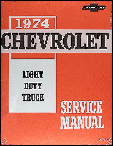 1974 Chevy Gmc G Van Wiring Diagram Original