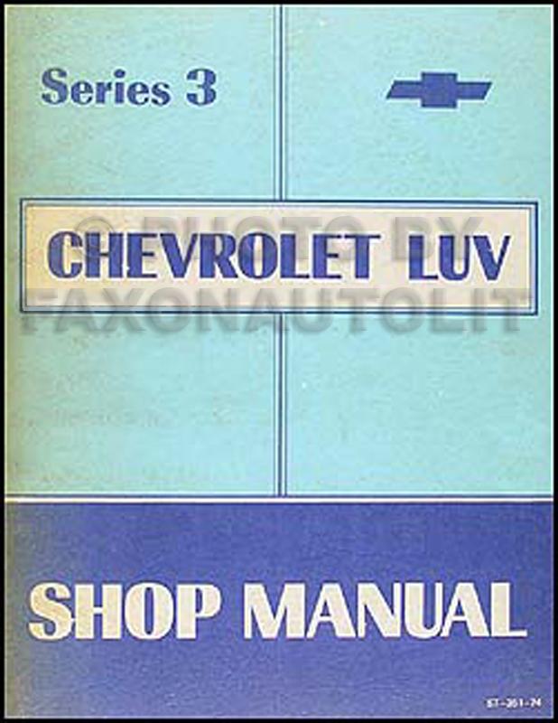 manual chevrolet luv 2 3 1993