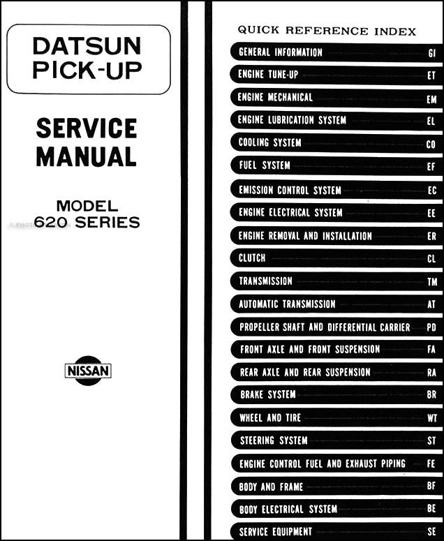 1974 datsun 620 truck wiring diagram information