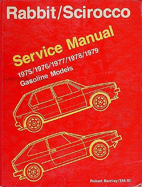1975-1979 VW Rabbit & Scirocco Shop Manual