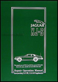Search 1975 19885 jaguar xj s 12 cylinder repair manual reprint sciox Gallery