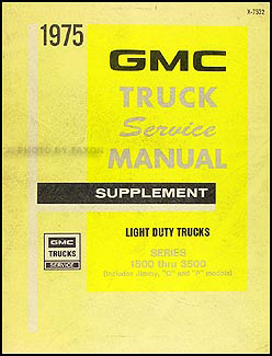 1975    Chevy    P30 GMC P35 Motorhome    Wiring       Diagram    Original