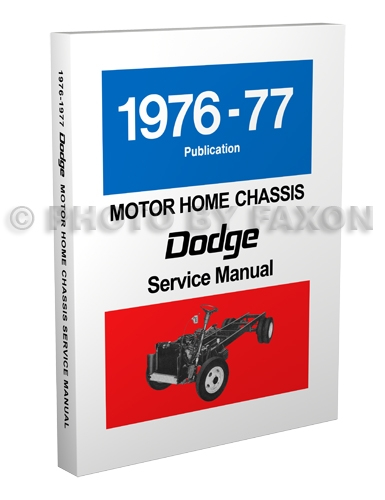 1976 77DodgeMHRM3D 1976 1977 dodge motor home chassis repair shop manual reprint m 1978 dodge motorhome wiring diagram at bayanpartner.co