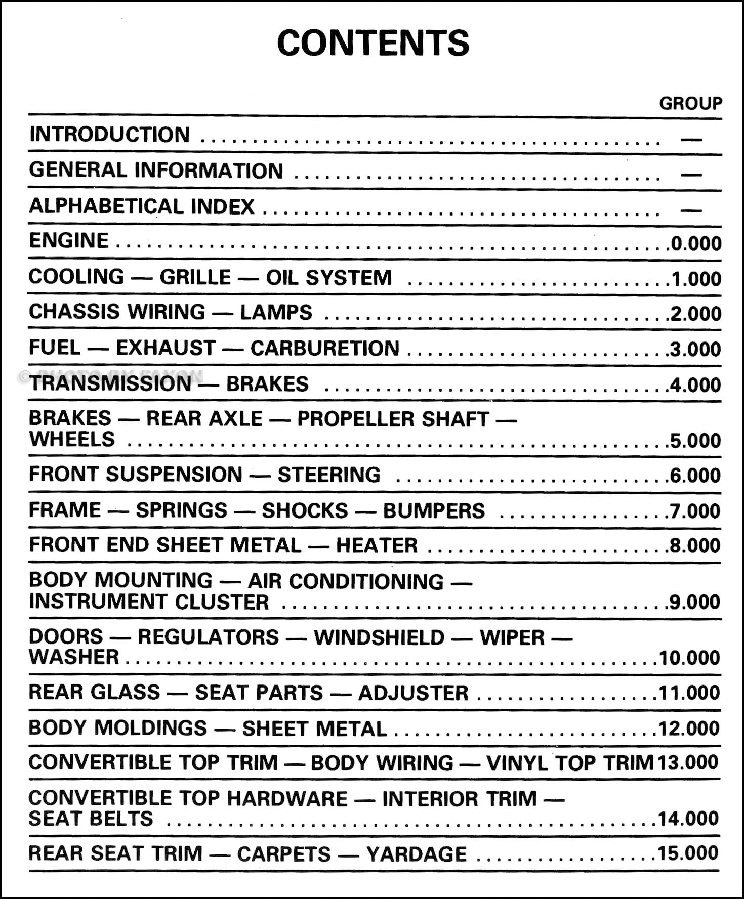 Cadillac Accessories Catalog: 1976-1978 Cadillac Chassis & Body Parts & Illustration Catalog