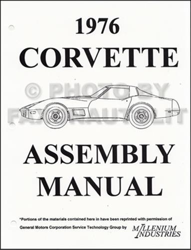 1973 1977 chevrolet corvette assembly manual on cd rom rh faxonautoliterature com 1977 corvette repair manual 1977 corvette assembly manual download