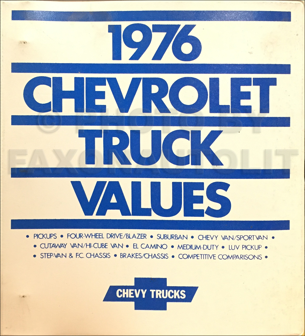 1976 Chevrolet  U00bd