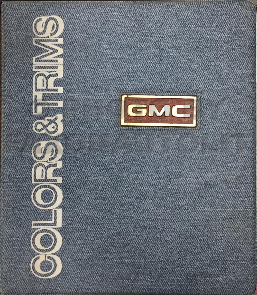 1976 Chevy Gmc Forward Control Wiring Diagram Original