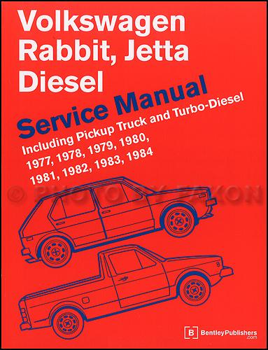 1977-1982 VW Rabbit, Jetta Bentley Repair Manual