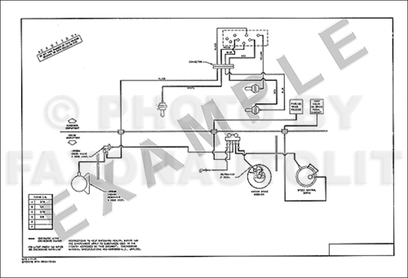 1985 Ford Mustang Mercury Capri Vacuum Diagram For Brakes And Cruise
