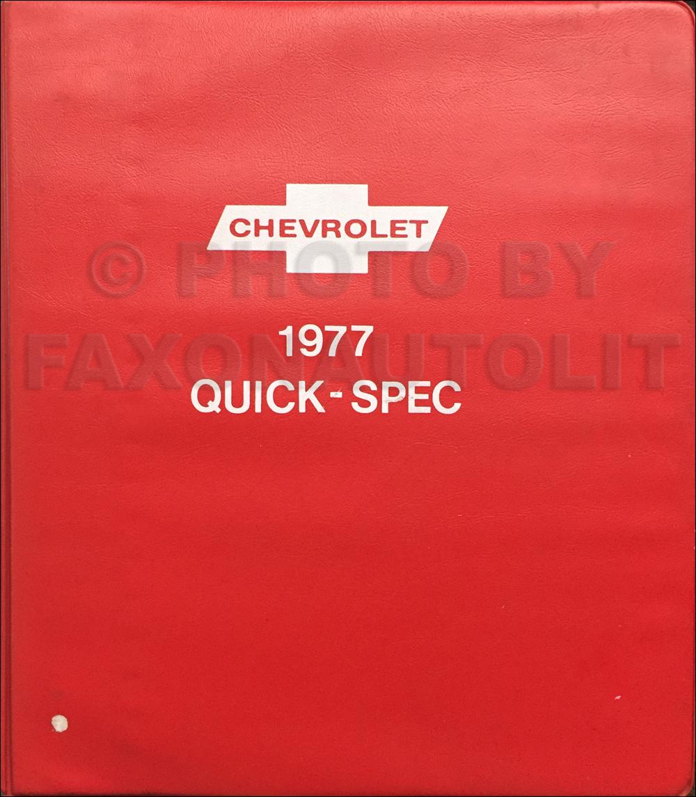 1977 Chevrolet Pickup, Blazer, Van, & Suburban Repair Shop ...