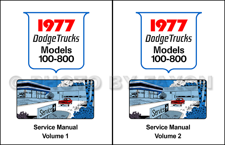 1977 dodge pickup truck 4x4 repair shop manual reprint rh faxonautoliterature com