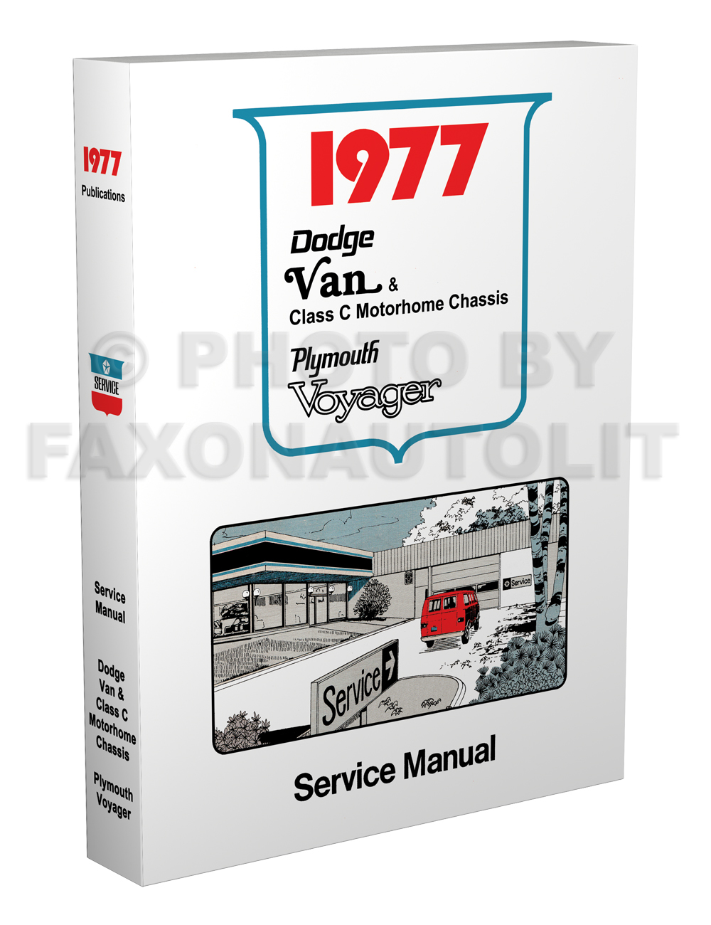 1977 Dodge Sportsman Motorhome Manual