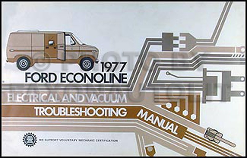 1977 Ford Truck Original Performance Specifications Book